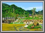 石風渡假城堡 和風山水庭園