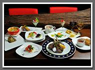 福華飯店主廚用心打造石風美食之旅